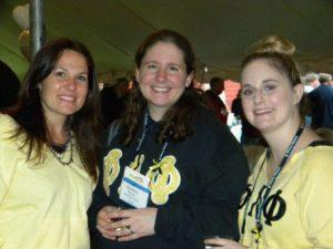 Phi Lamb sisters at the 2013 Reunion
